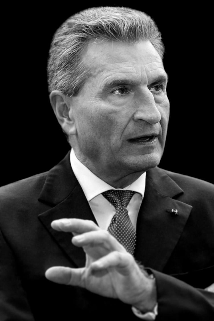 Foto von EU-Kommissar-Oettinger