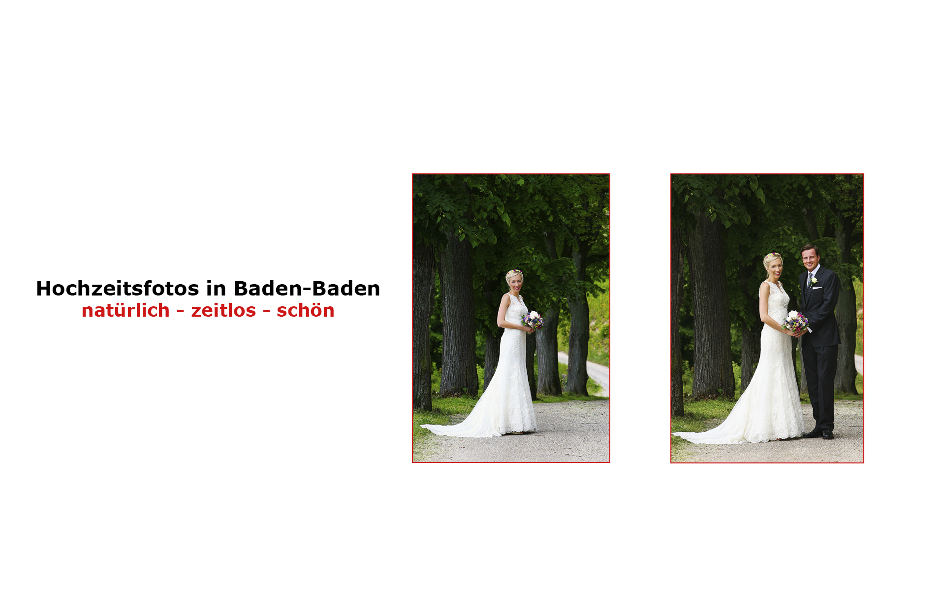 Fotografen Baden-Baden