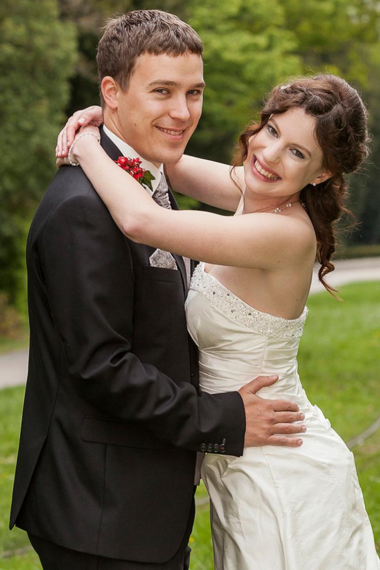 Karlsruhe Foto von Hochzeit im Schlossgarten