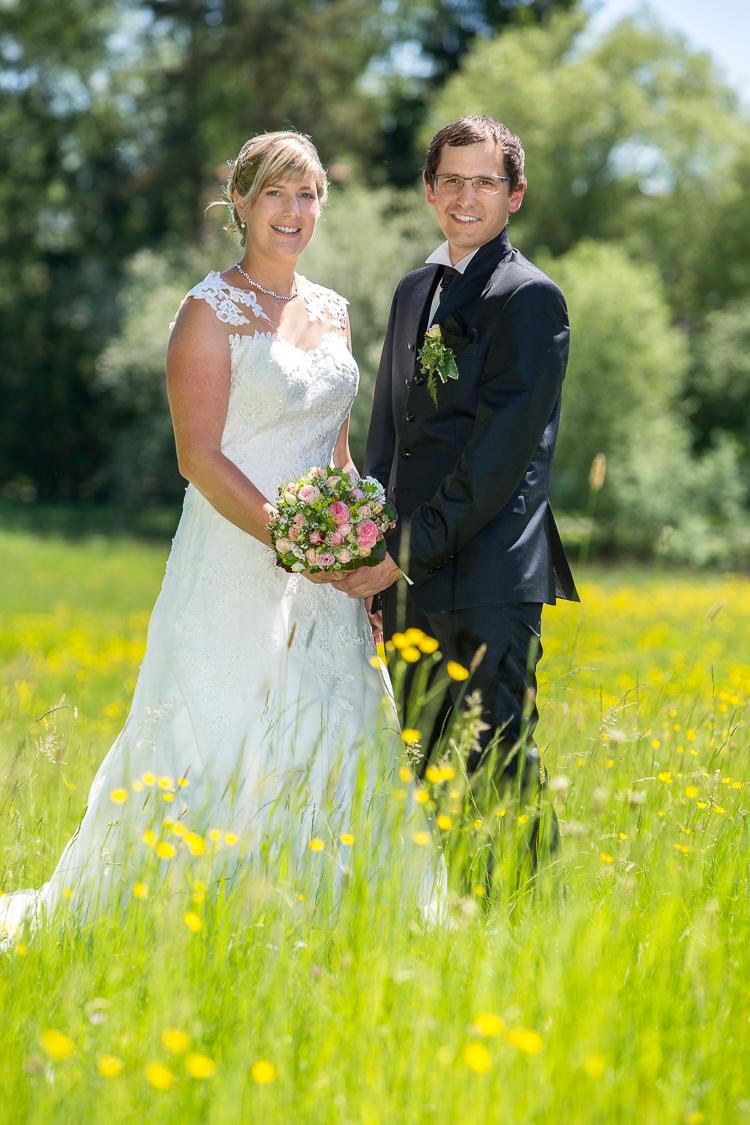 Brautpaarfotos in der Natur
