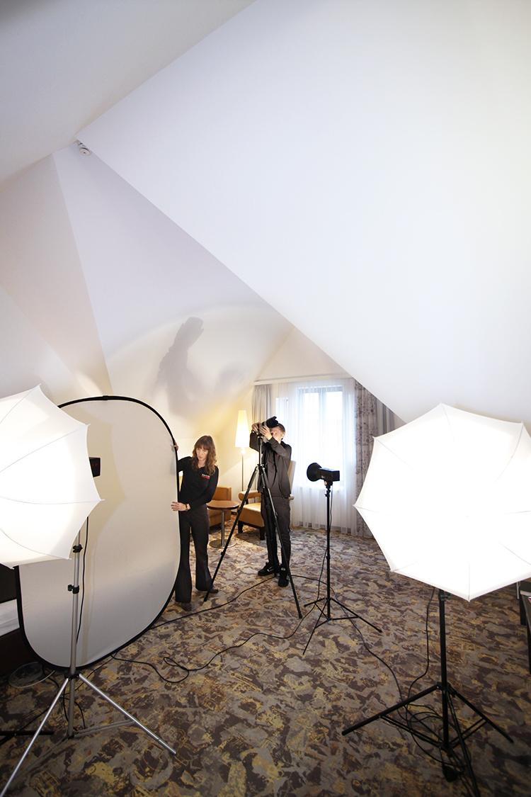 Arbeit im Fotostudio Stuttgart
