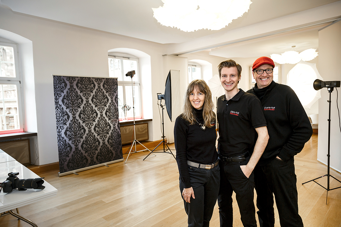 Fotostudio in Freiburg, Münsterplatz
