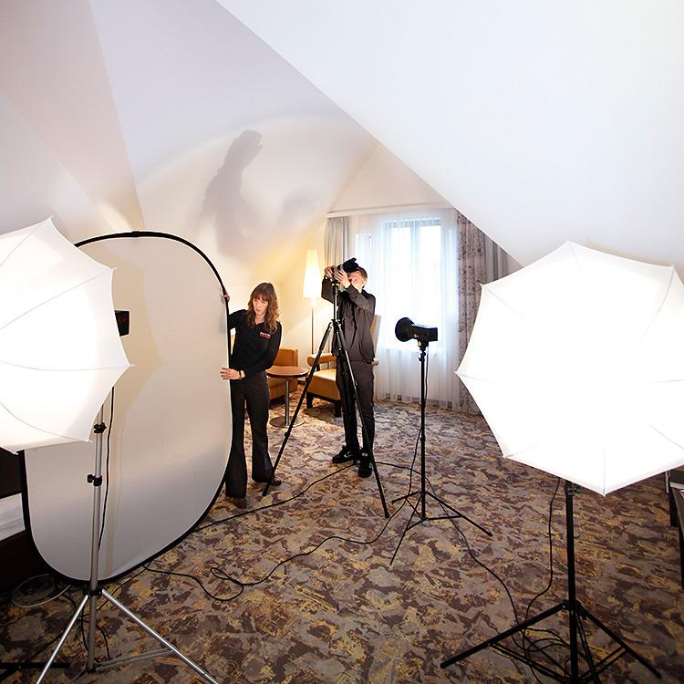 Innenaufnahme beim Fotoshooting Stuttgart