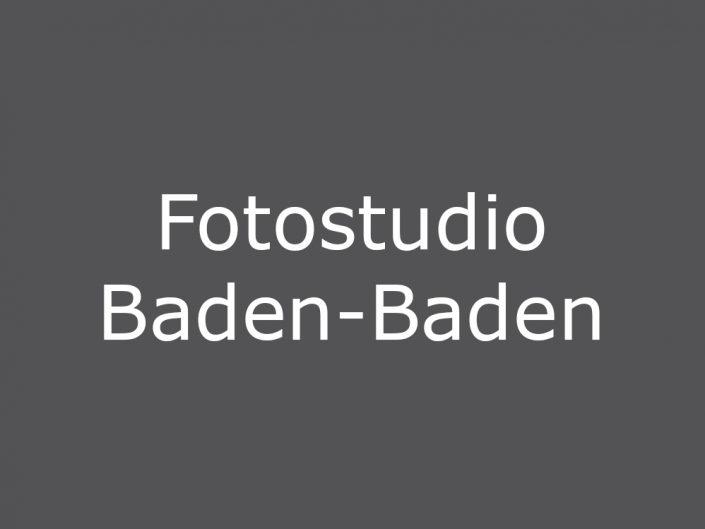 Fotograf Baden-Baden