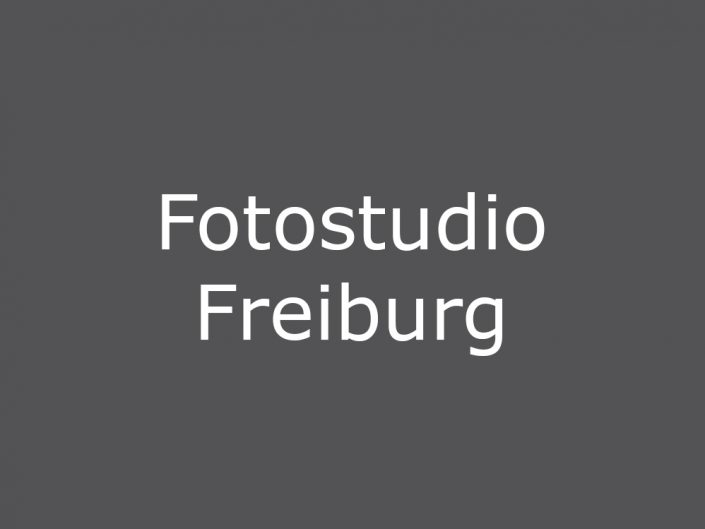 Fotostudio Freiburg