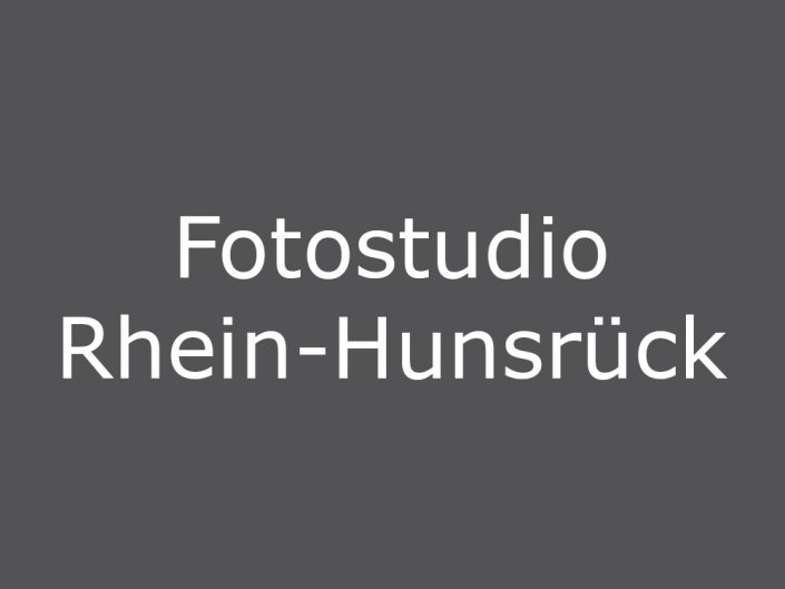 Fotostudio Rhein-Hunsrück