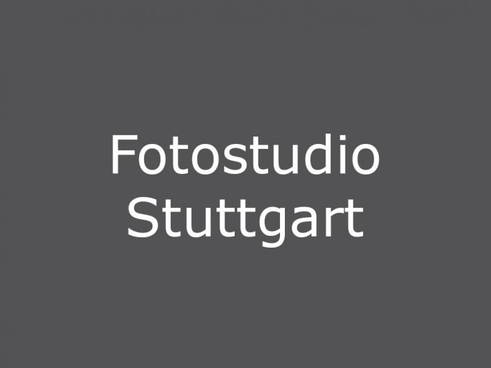 Fotostudio Stuttgart