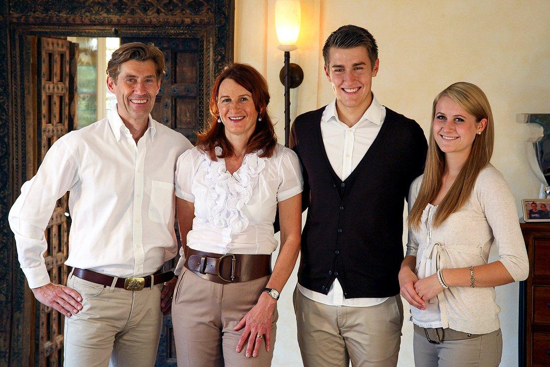 Familienfoto im Studio Karlsruhe