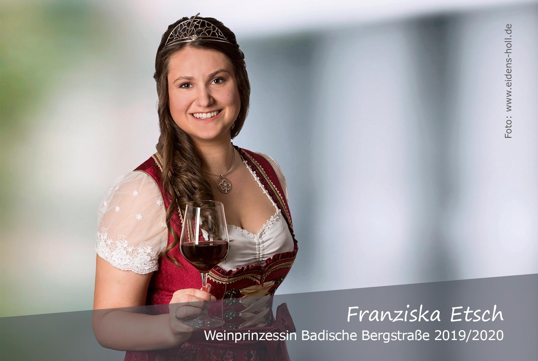 Franziska-Etsch-Weinprinzessin