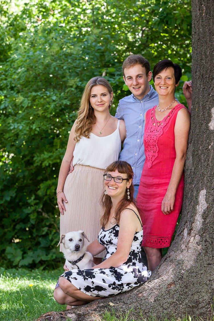 Familienfoto in Karlsruhe
