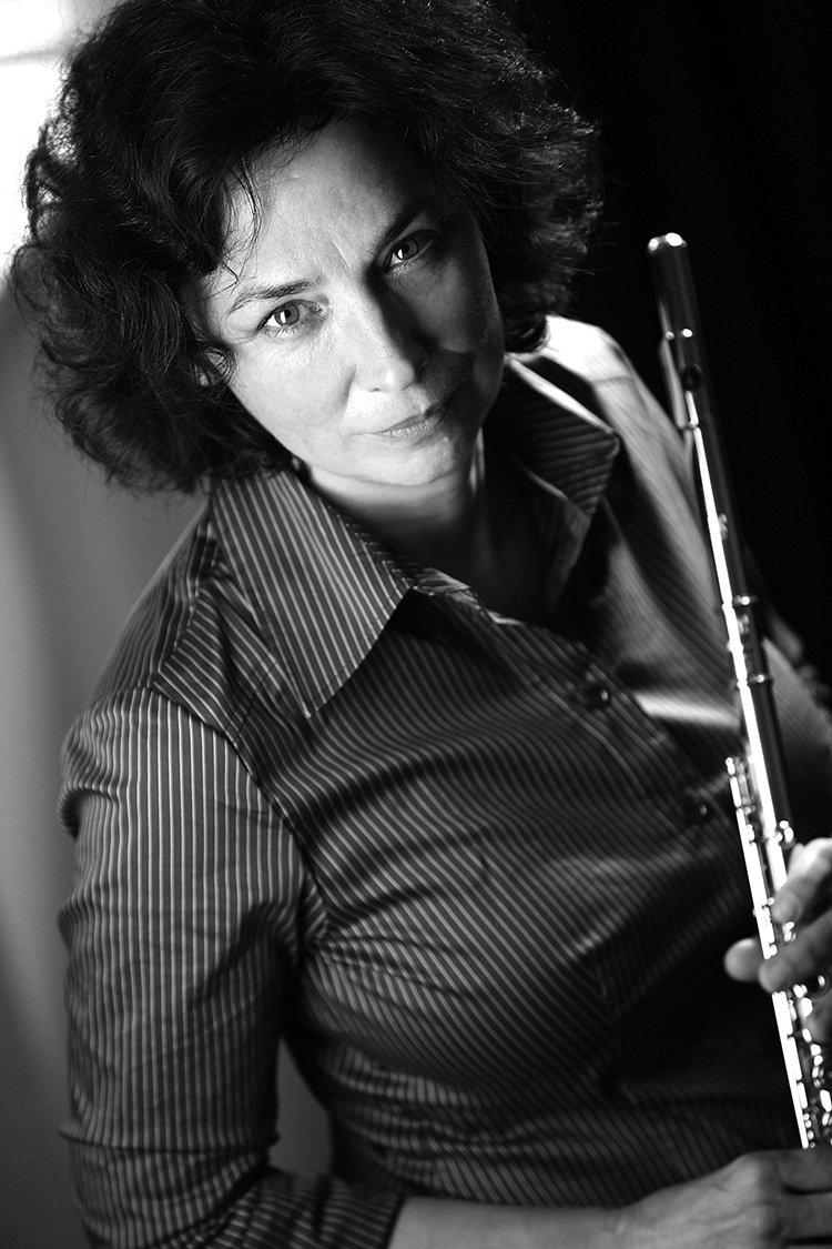 Musikerin in Freiburg