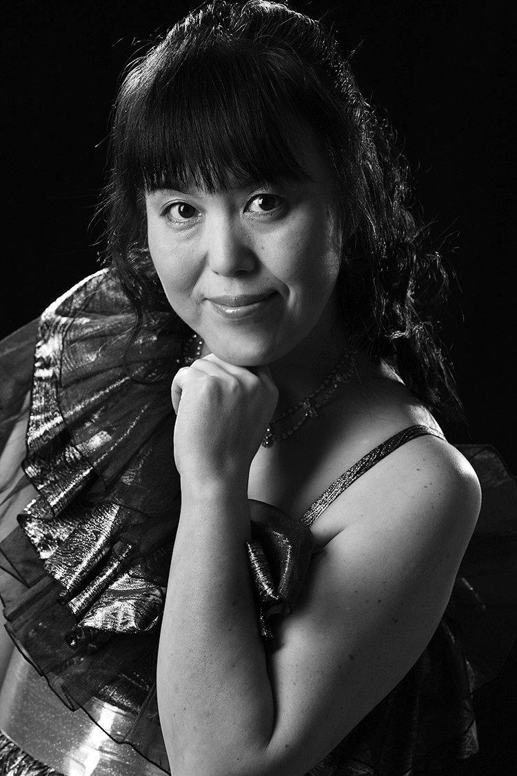 Portrait einer Pianistin