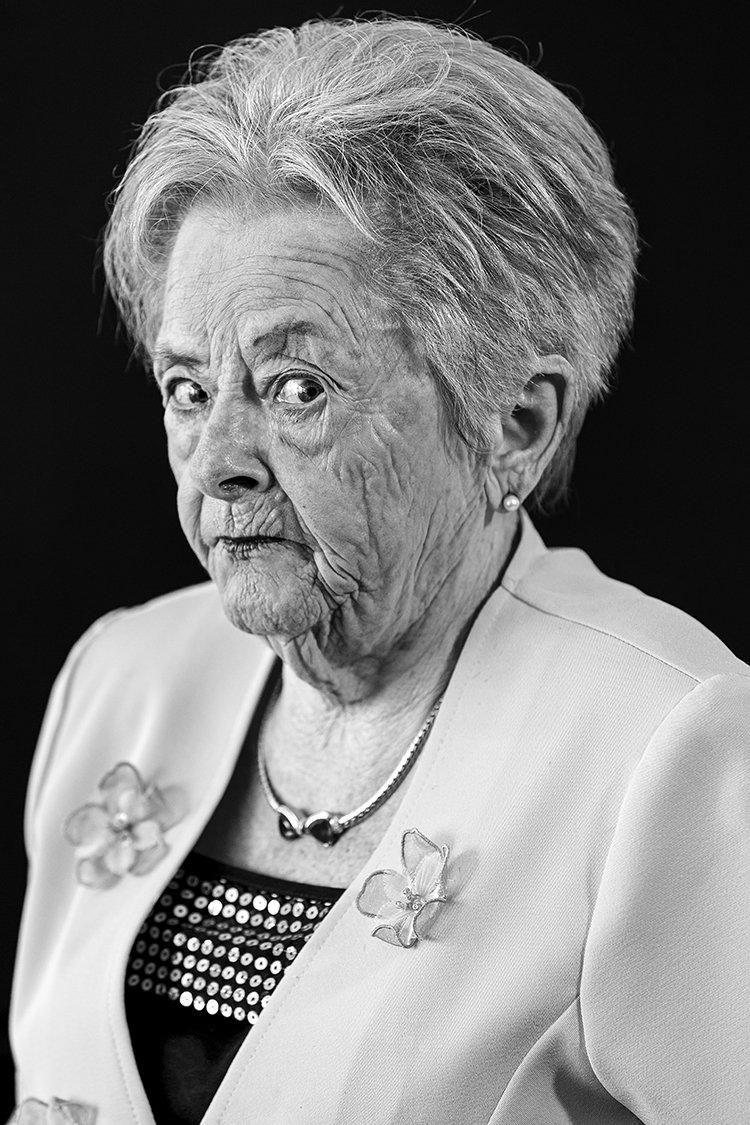 Portrait einer Stuttgarter Dame
