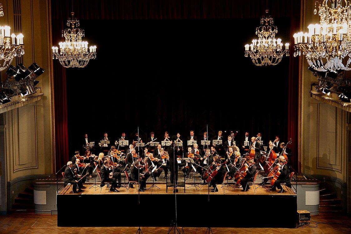 Prager Philharmoniker im Konzert