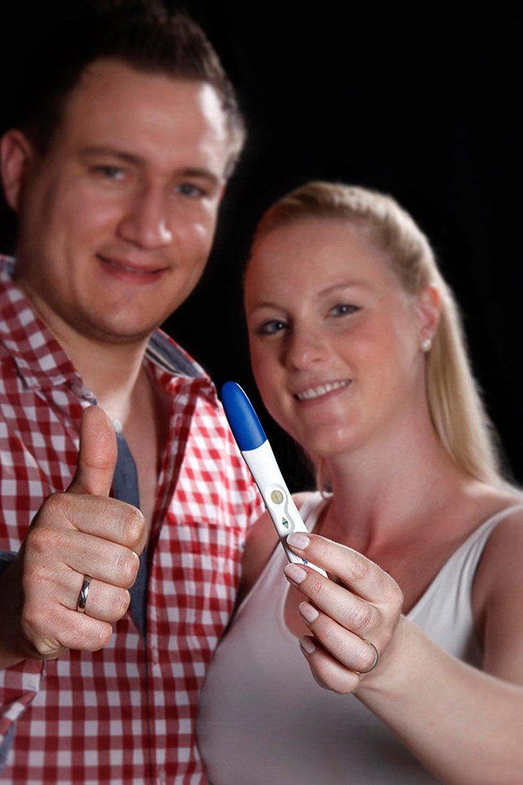 der Schwangerschaftstest