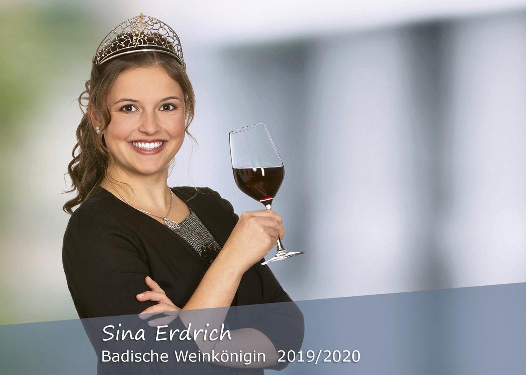 Sina_Erdrich, Badische Weinkönigin