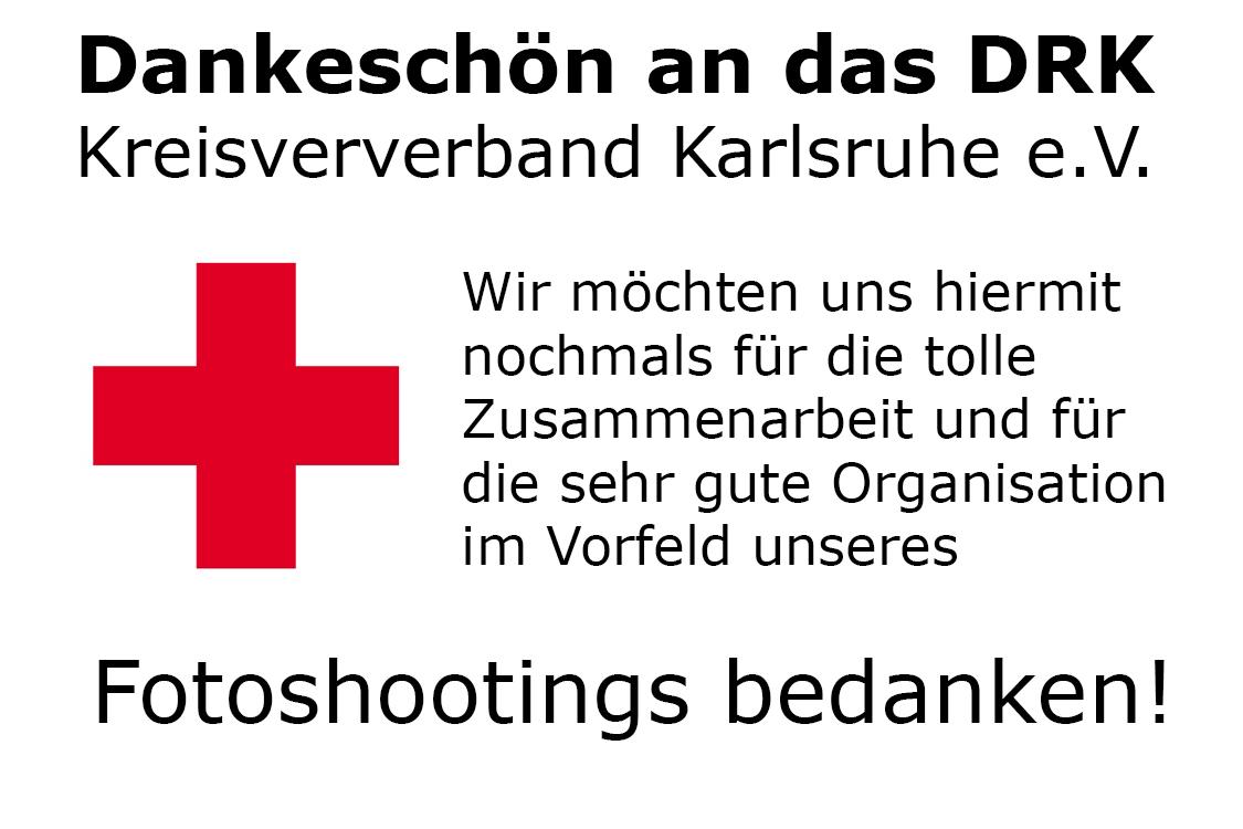 Fotoshooting beim DRK Karlsruhe