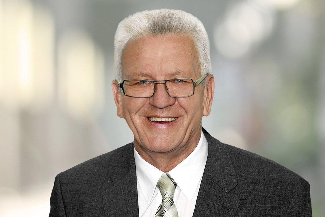 Winfried Kretschmann – Ministerpräsident Baden-Württemberg