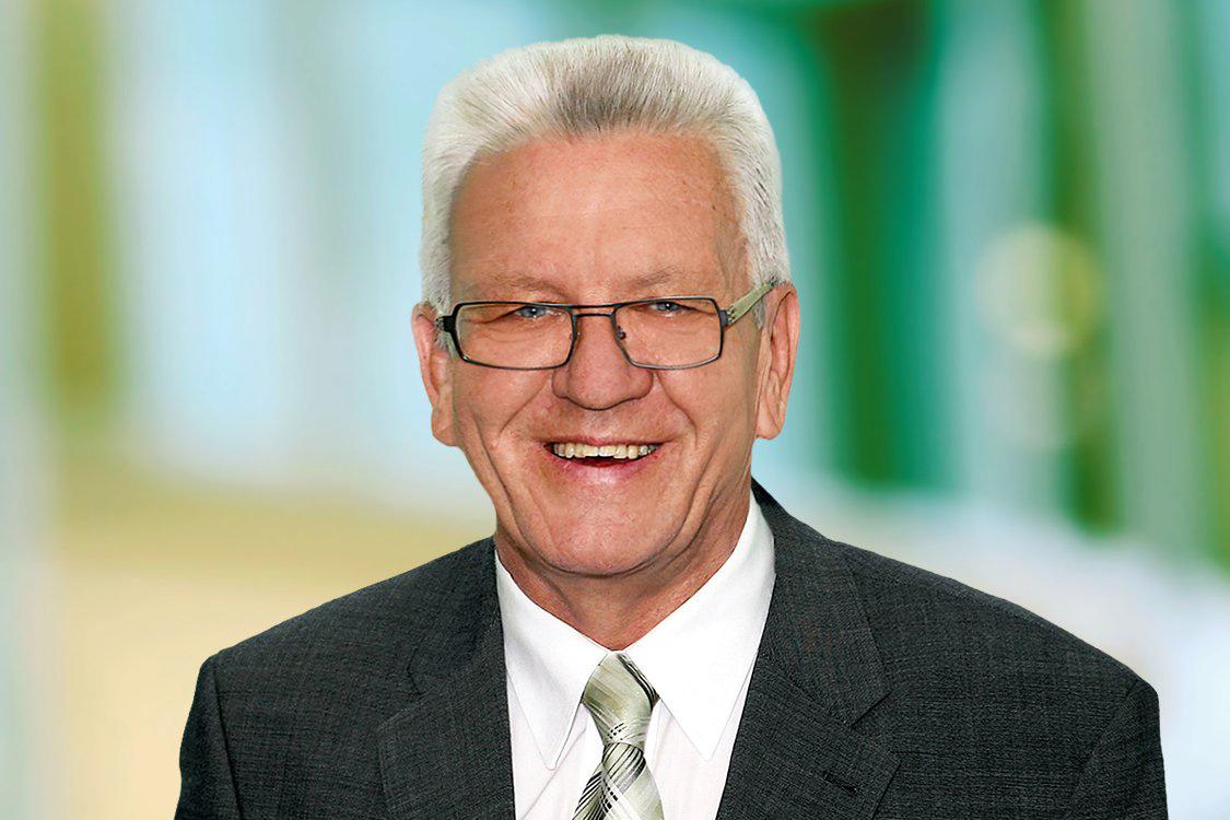 Winfried Kretschmann - Ministerpräsident