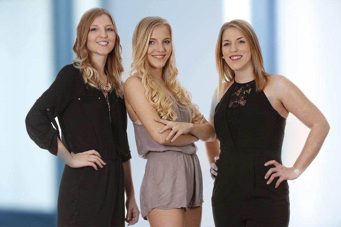 Foto von drei Schwestern