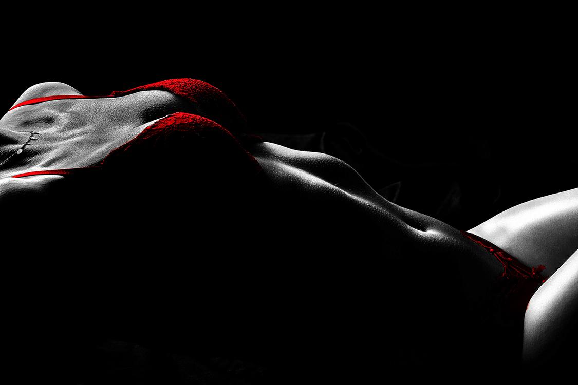 Körperlandschaften in Dessous
