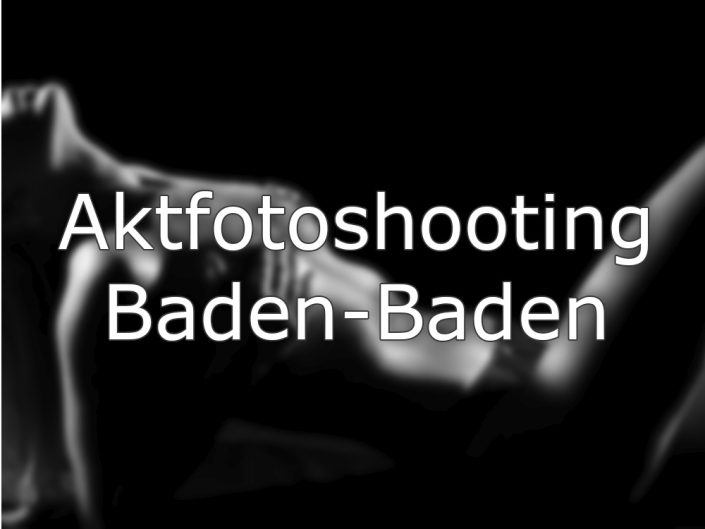 Dessous / Aktfotos Baden-Baden