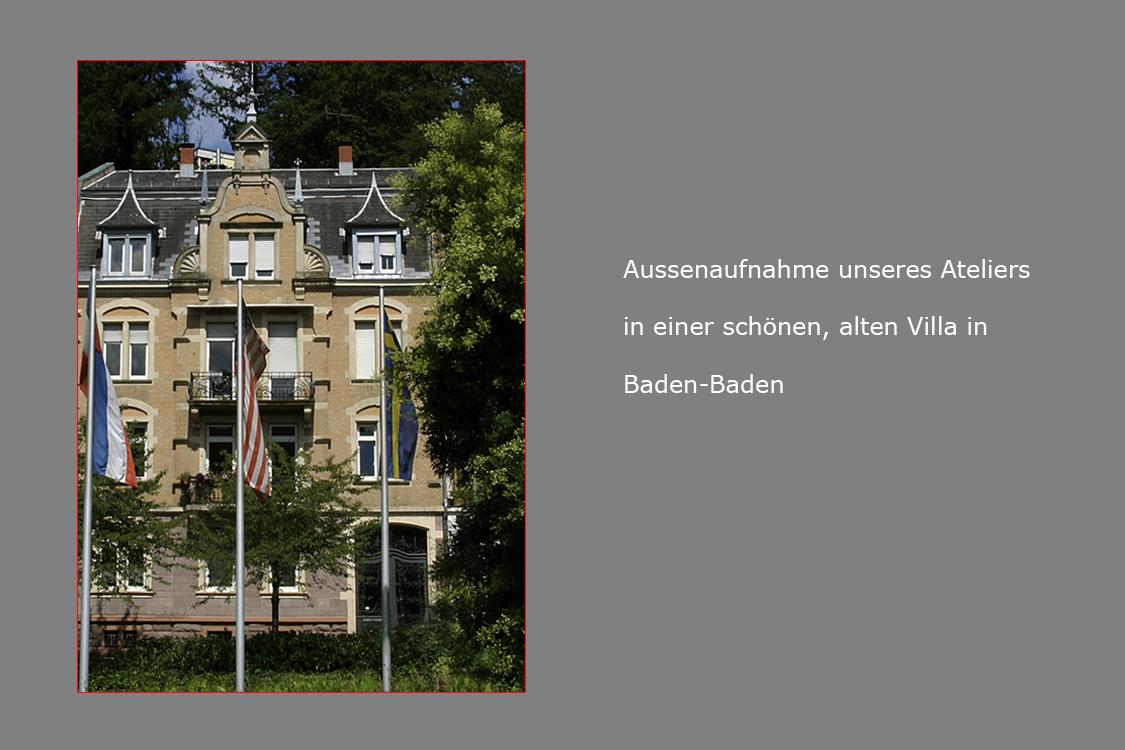Das Fotoatelier in Baden-Baden