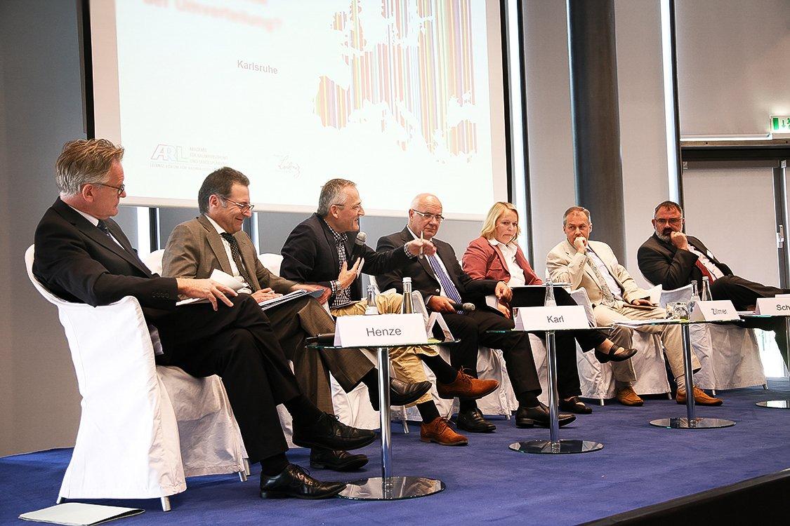 Podiumsdiskusion Messe Karlsruhe