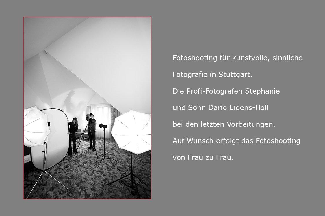 das Fotostudio in Stuttgart