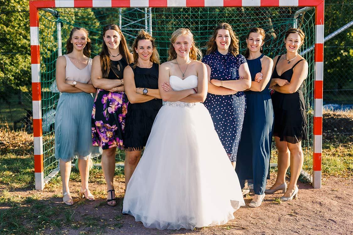 Hochzeitsfotografie in Durlach, lustig