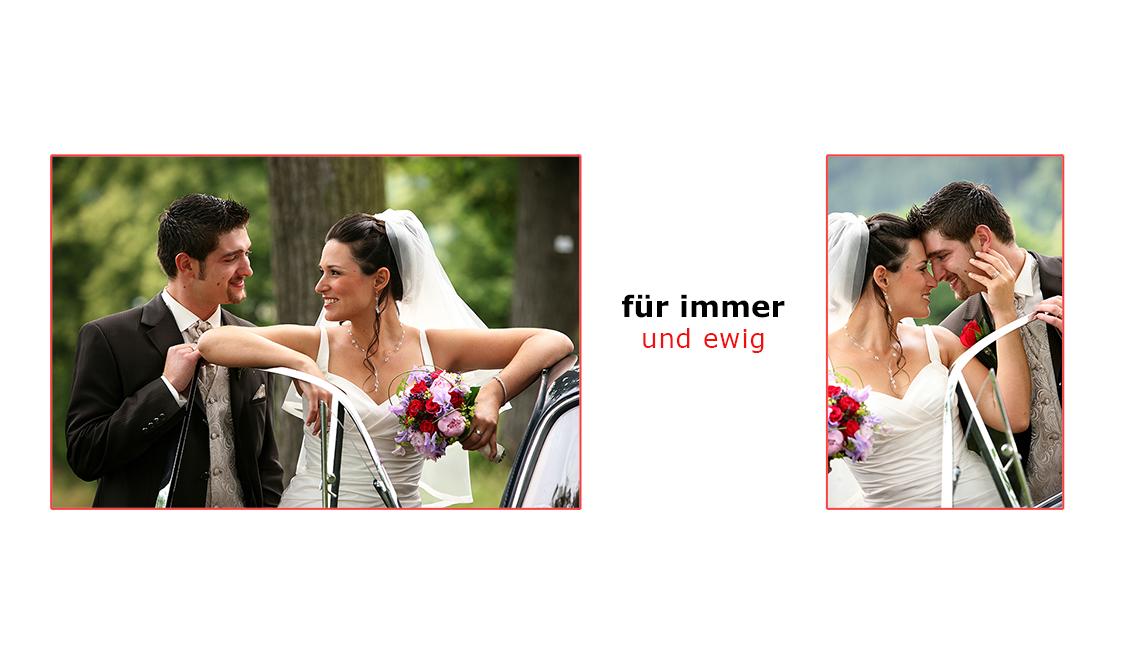 Hochzeitsfotograf in St. Georgen, Triberg und Schönwald