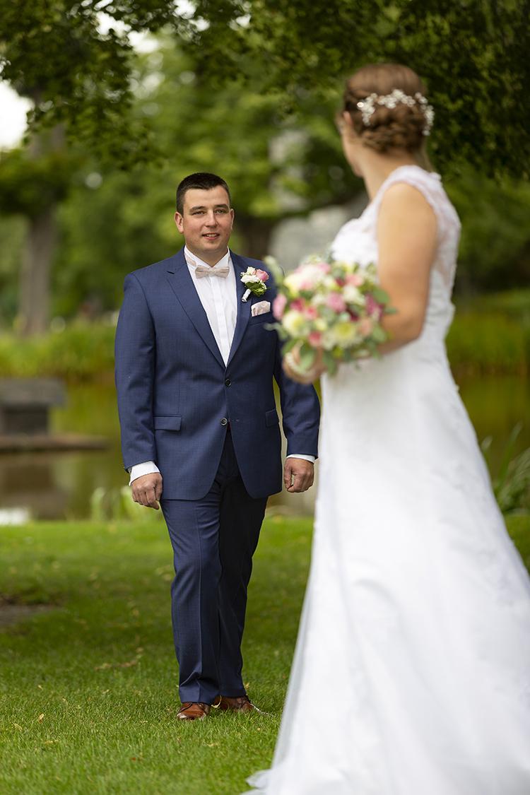 Hochzeitsbilder im draußen