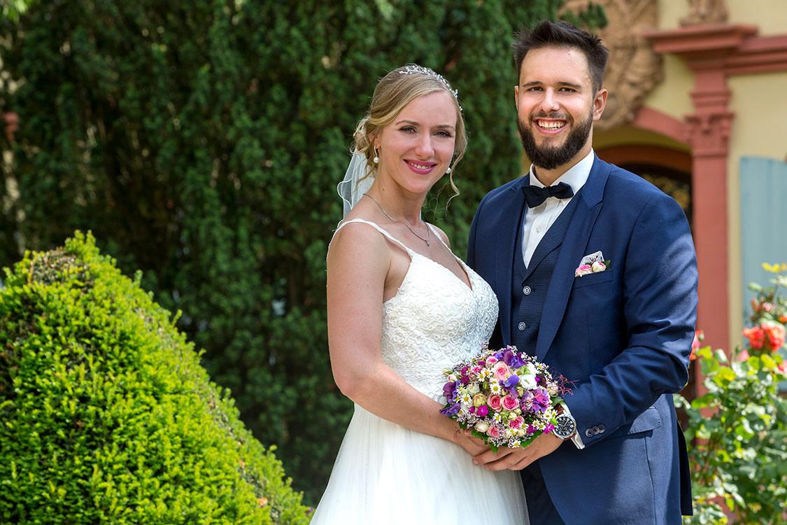 Hochzeitsfotografie Mendig im Grünen