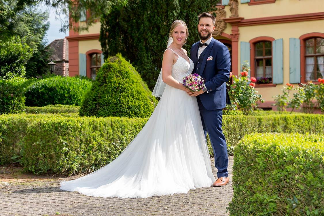 Hochzeitsfotografie Pfinztal Brautpaar