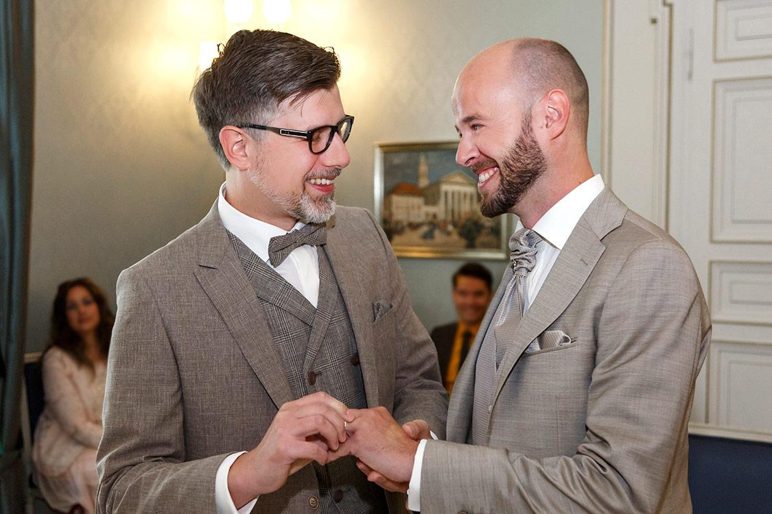 Hochzeitsfotos-von zwei Männern