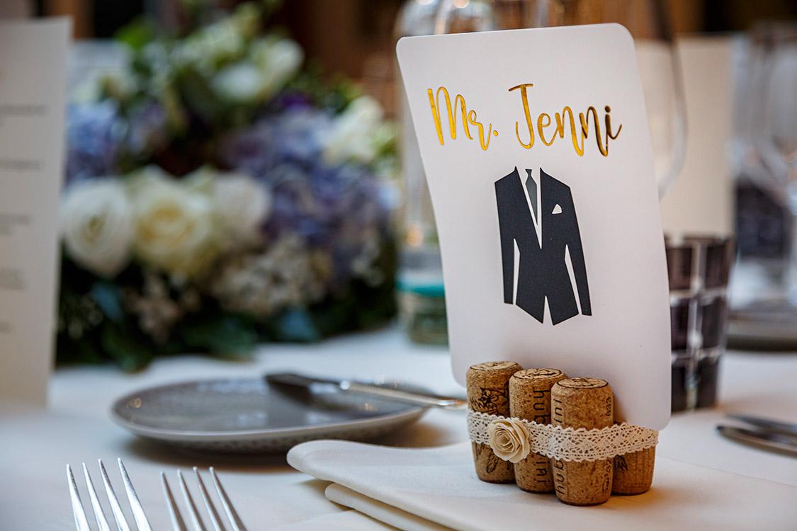 Gute Ideen für Tischkarten Hochzeitsfest