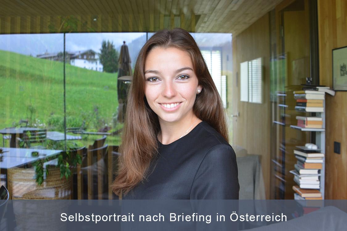 Greenline Bewerbungsfotos, Selbstportrait-nach-Briefing