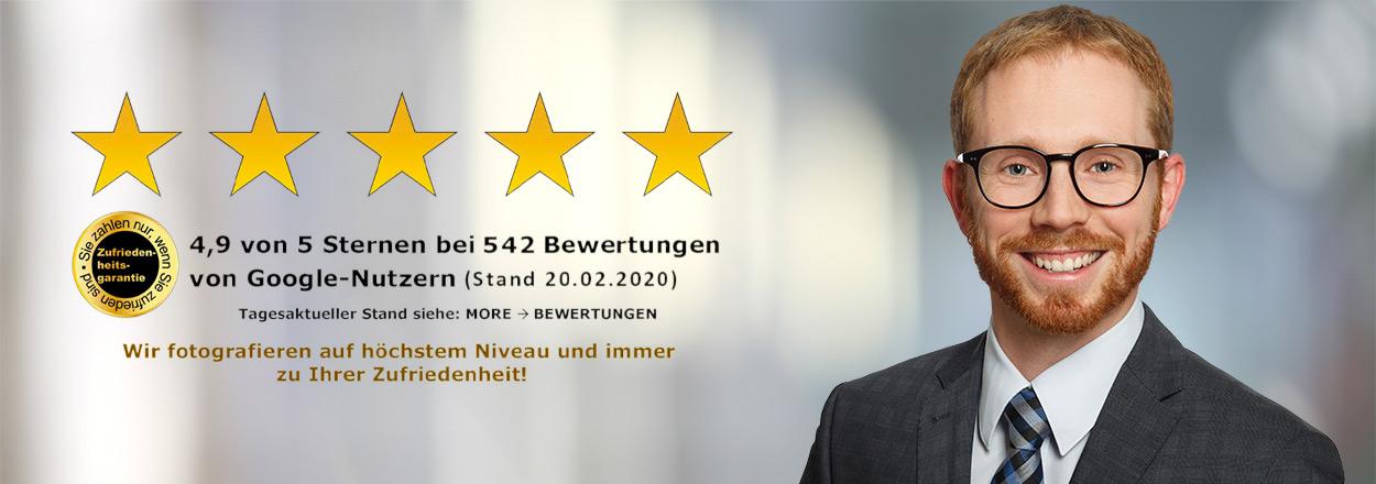 5 Sterne Bewerbungsfotos in Aachen
