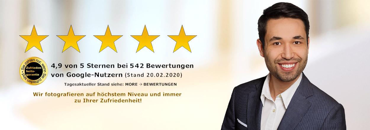 Bonn: Bewerbungsfotos in hervorragender Qualität von Ihrem Business-Fotostudio