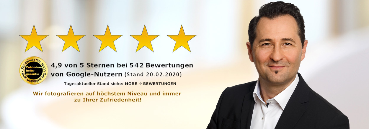 Bewerbungs-Fotostudio mit top Rezensionen Essen NRW