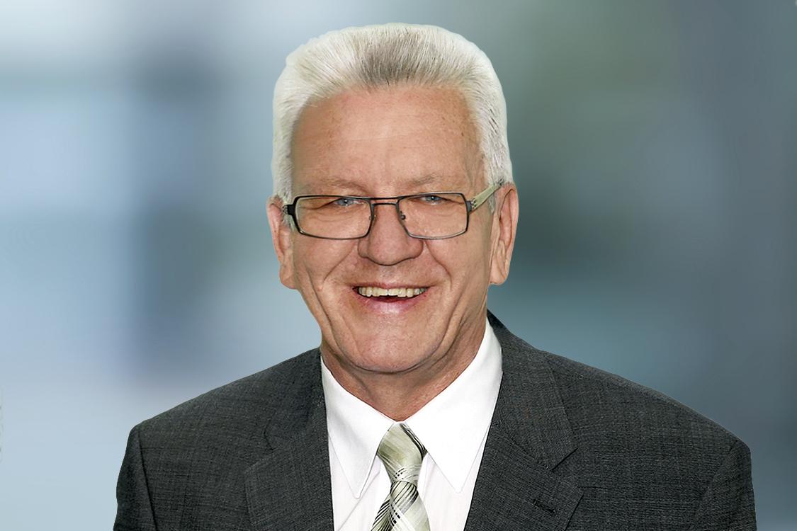 Ministerpräsident Winfried Kretschmann Bawü