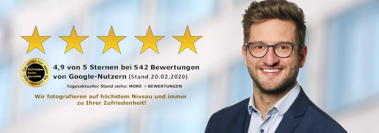 Bewerbungsfotos in Wolfsburg 5 Sterne Qualität