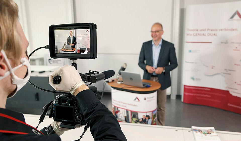 Videodreh für Duale Hochschule RLP in Worms